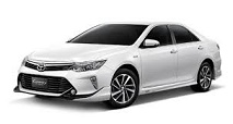 Private Car. Toyota Camry or similar